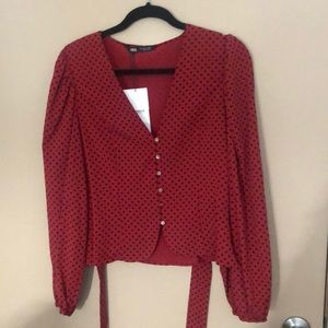 Cute Zara blouse